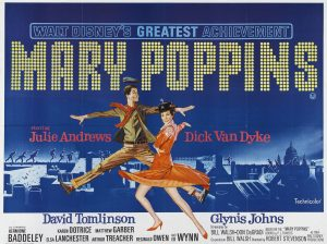 Mary Poppins Vinilo-Poster1