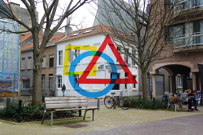 """ Exercise Of Anamorphosis #2 "" - The Crystal Ship 