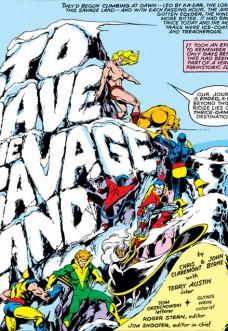 X-Men #116 [Lettering: Orzechowski]